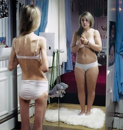 Tak widzą siebie anorektycy