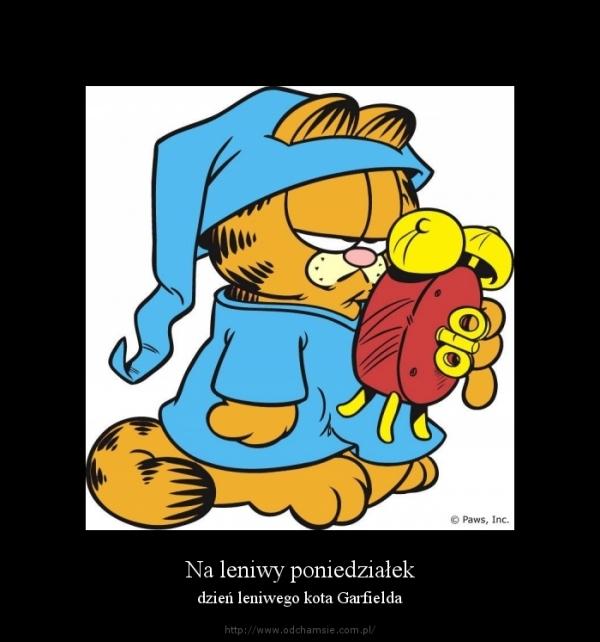 Dzień kota Garfielda 19.06